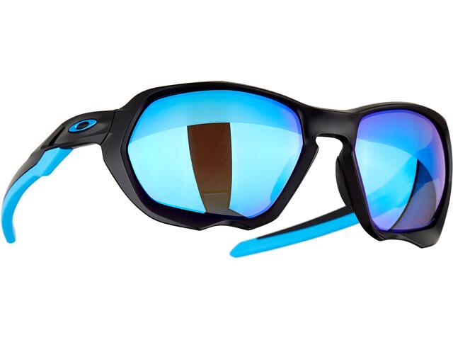 Oakley Plazma Sunglasses Men matte black/prizm sapphire polar